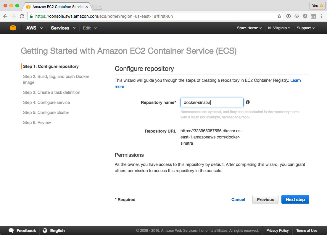 Create Docker Registry
