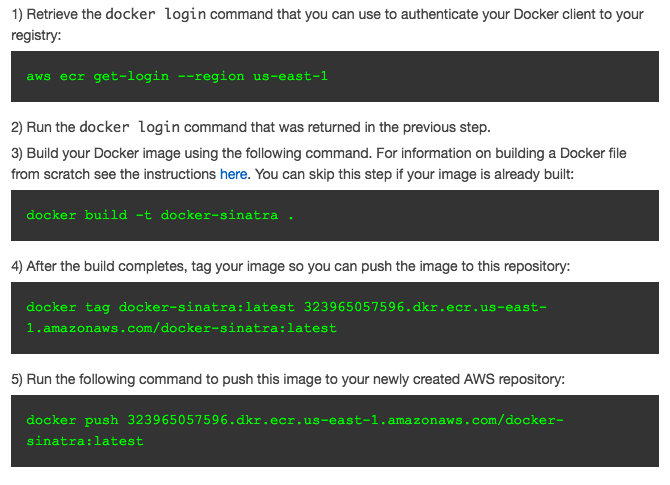 How to Deploy a Sinatra App in Docker to Amazon's EC2